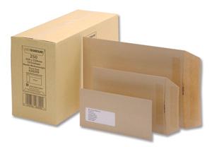 Croxley Envelopes C5 229x162 Manilla Full Gum - Enp95km