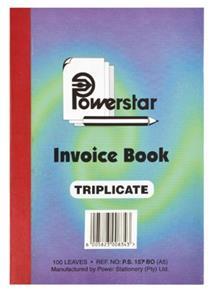 A5 Invoice Trip 100 Sheet
