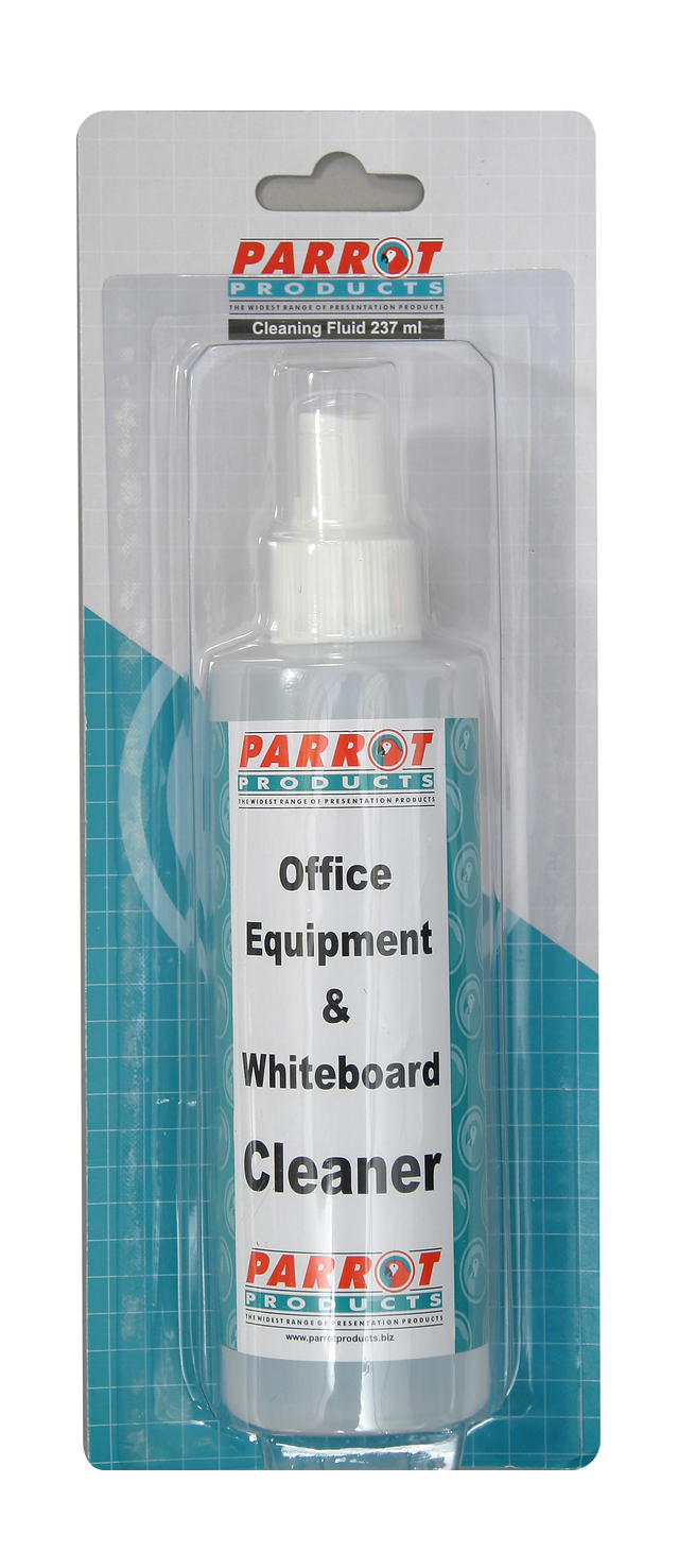 Parrot Cleaning Fluid Whiteboard 237 ML Carded