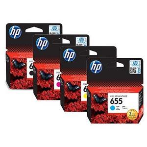 HP 655 Black Ink Cartridge Blister Pack
