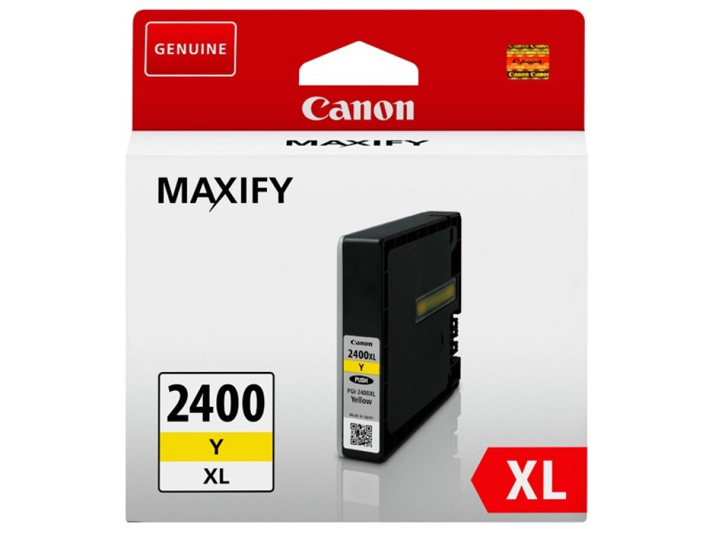 CANON YELLOW INK PGI 2400XLY IB4040 MB5040 MB5340