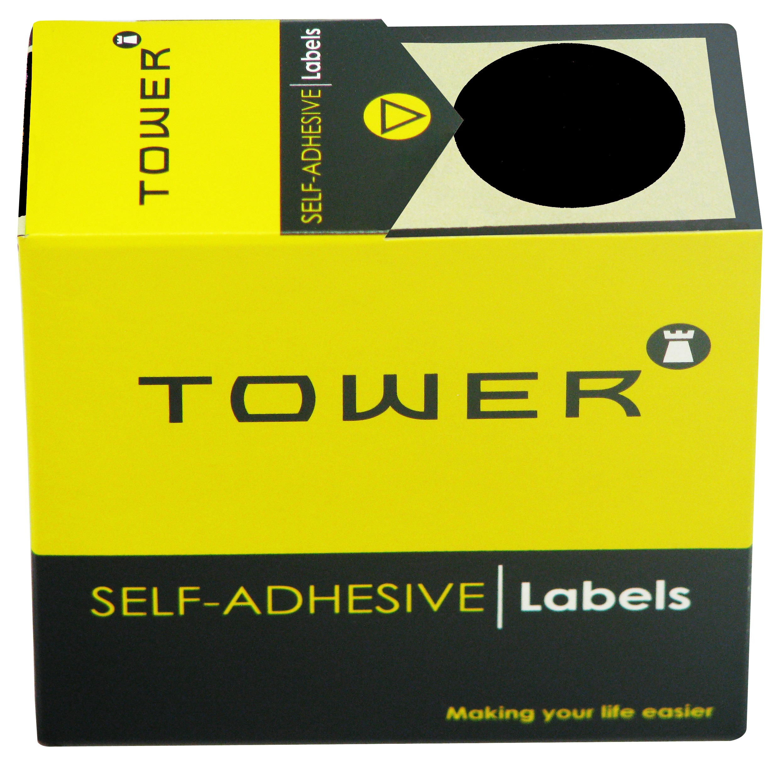 Tower C32 Label Black
