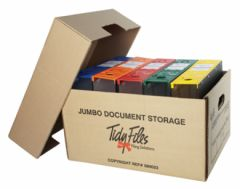 Tidy Files Storage Box Jumbo (Lever Arch)