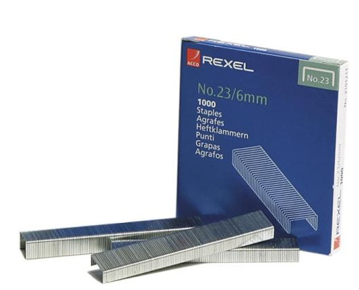 Rexel 23-6 Staples 1000's