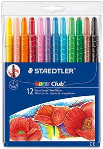 Staedtler Noris Twisters Wax 12 Assorted