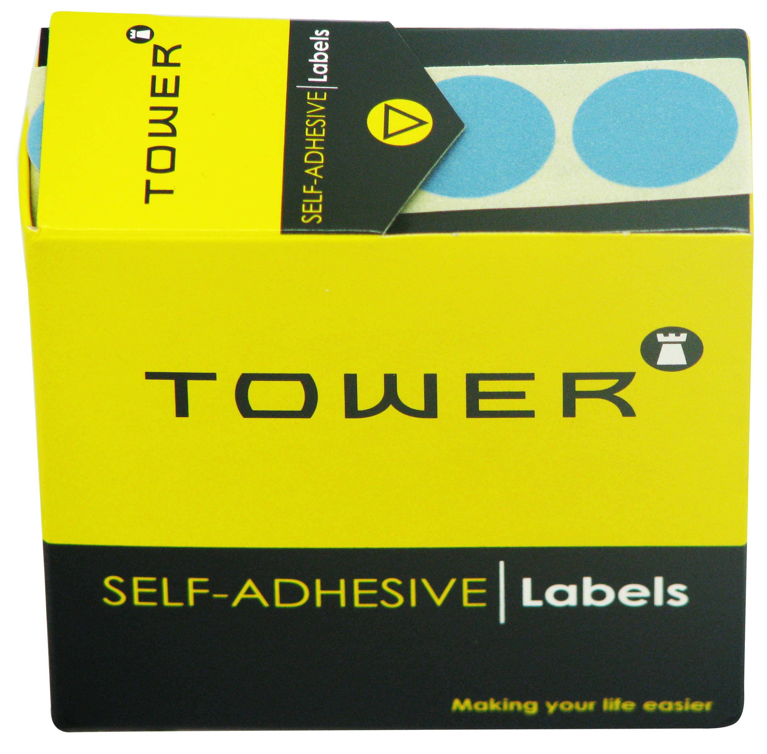 Tower C19 Label Light Blue
