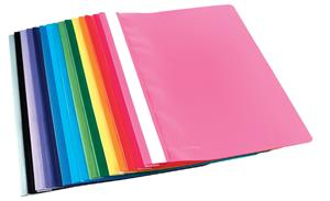 A4 Blue Quotation Folder Clear Front