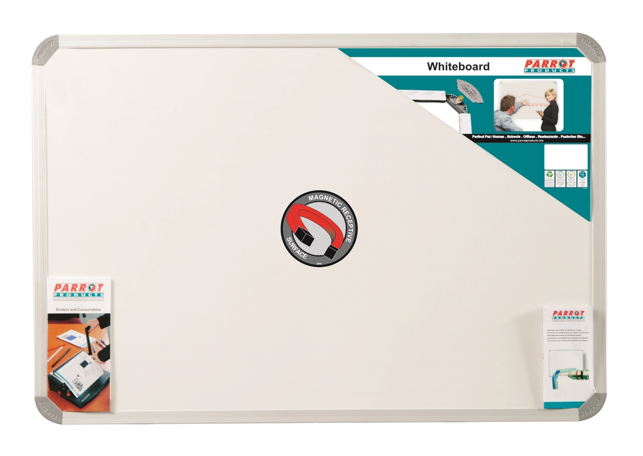 Parrot Whiteboard Magnetic 3000mmx1200mm