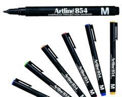 Artline OHP Perm Medium Green