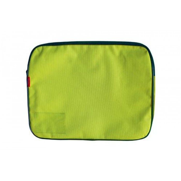 Croxley Canvas Gusset Book Bag Lime Green