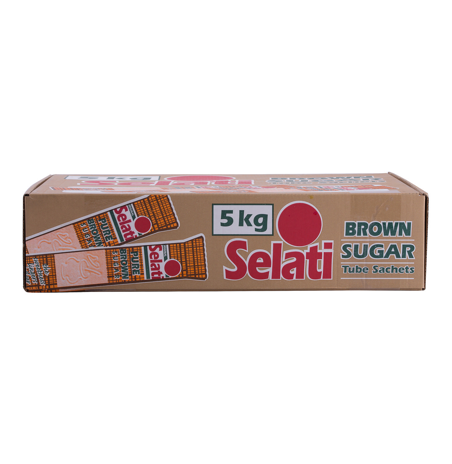 Selati Brown Sugar Tubes 1000s