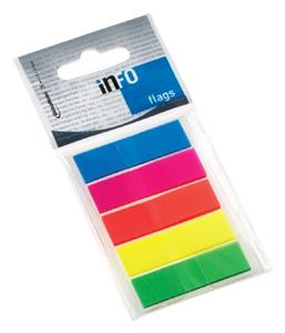 Info Flags 5x26 Sheet Solid Col