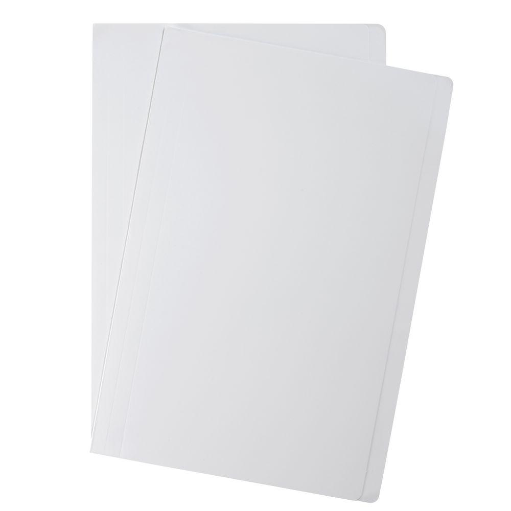 Manilla Folders White 180gsm