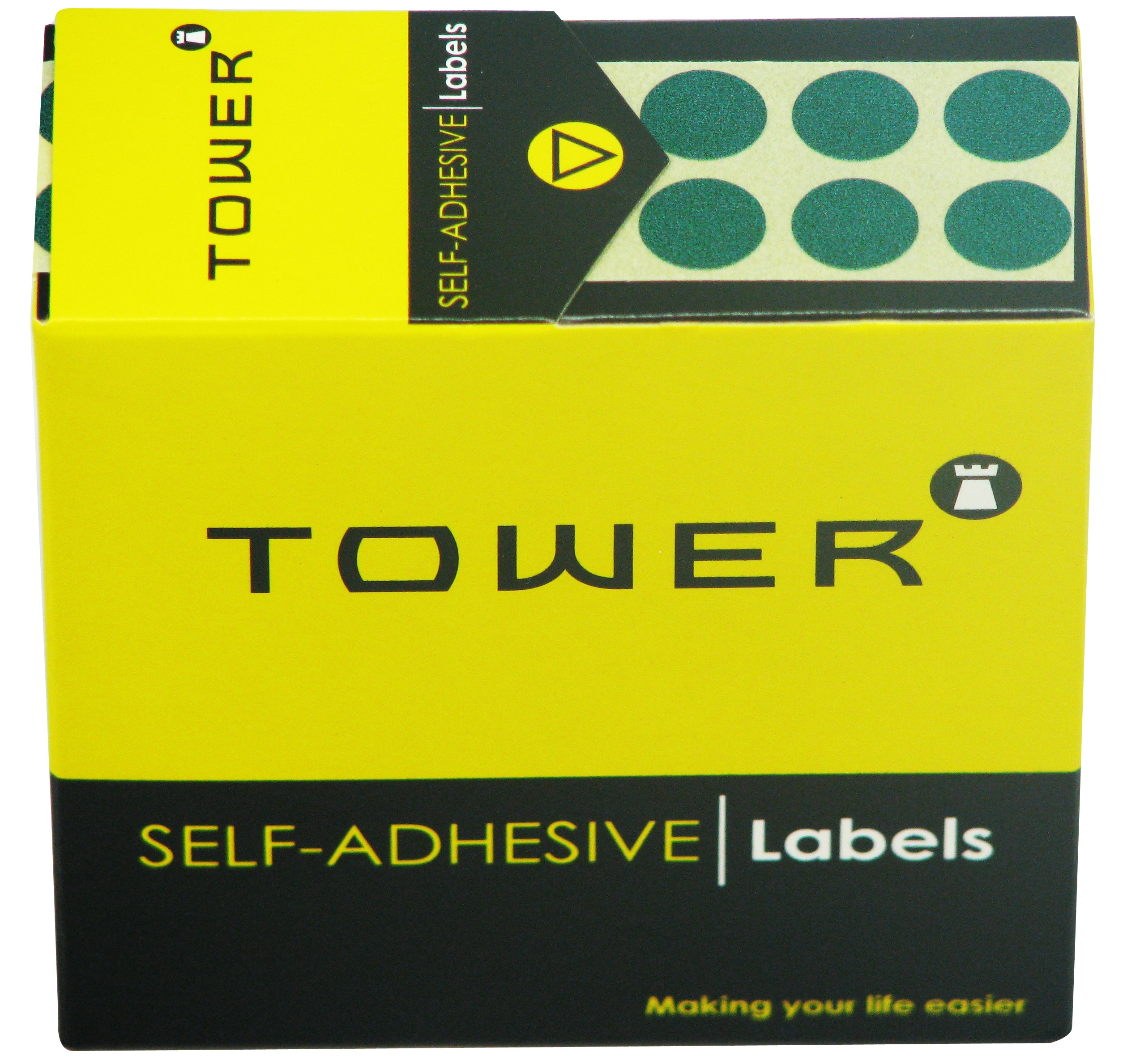 Tower C10 Label Green