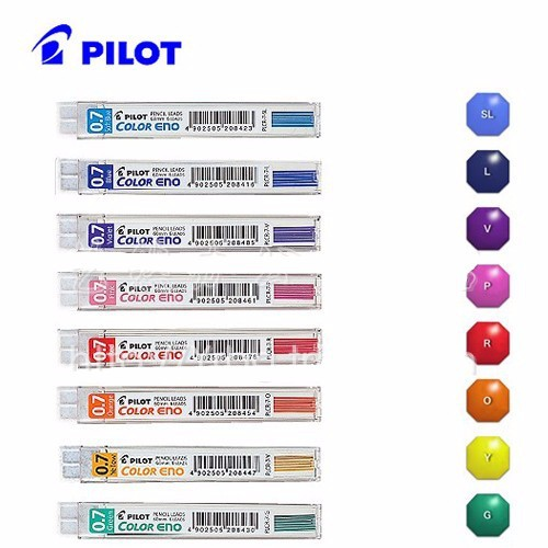 Pilot Eno Colour Lead 0.7mm Light Blue