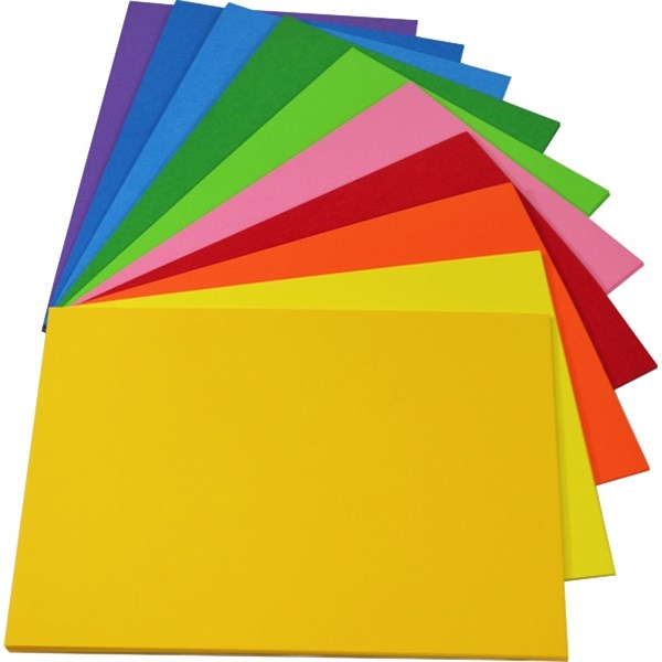 Manilla Folders 200gsm Bright Blue Pack 100