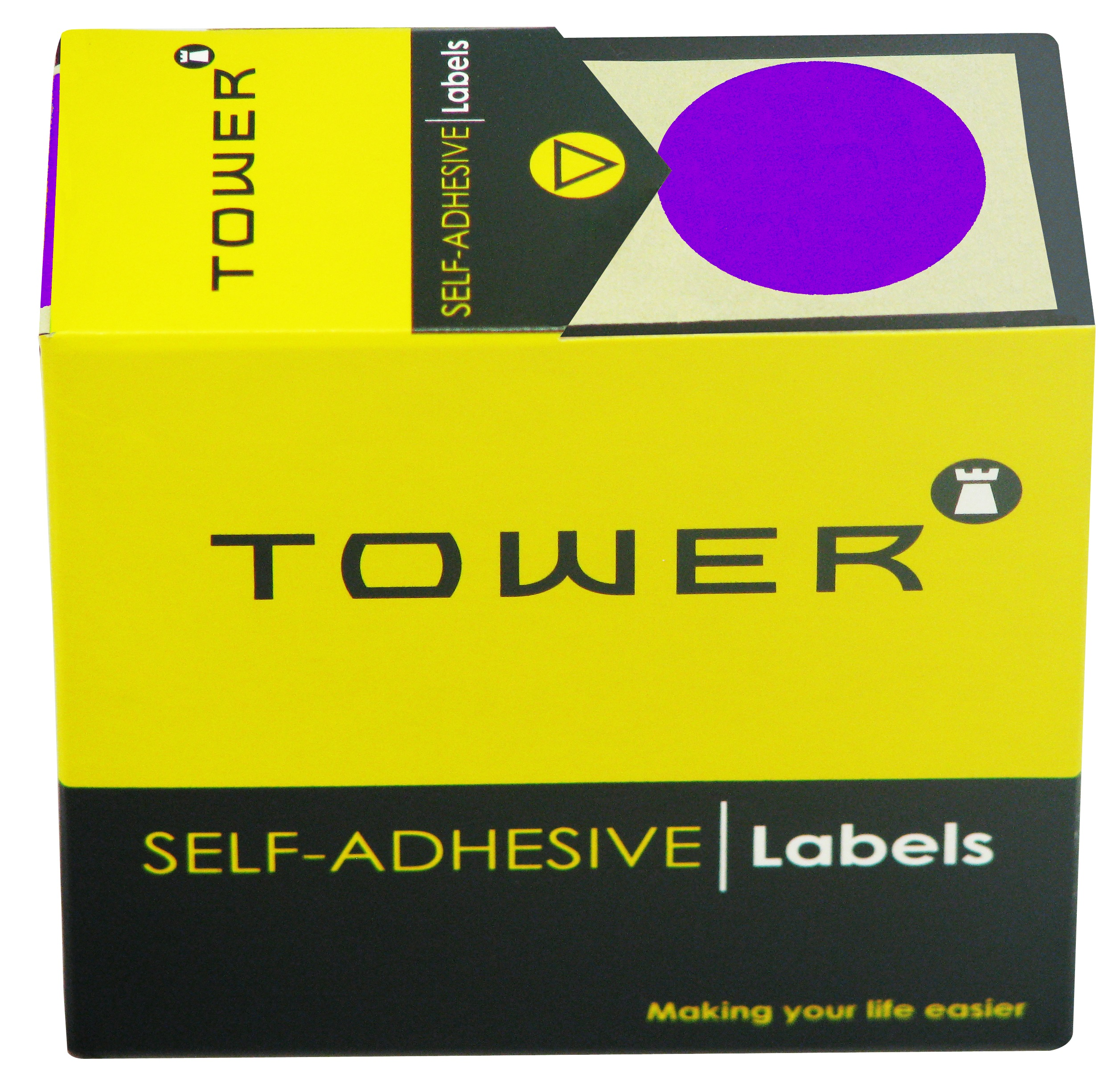 Tower C32 Label Purple