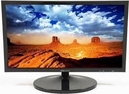 MECER 21.5'' 16X9 FULL HD 1920X1080 LED MONITOR - BLACK Dsub  +HDMI