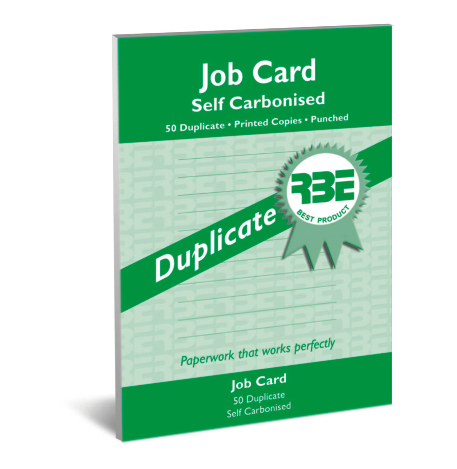 RBE Job Card A5 Duplicate