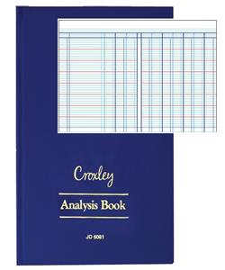 Croxley JD6010 Analysis. 10 Cash Column 2 pages