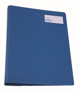 Bantex PuncHLess Binder A4 Blue