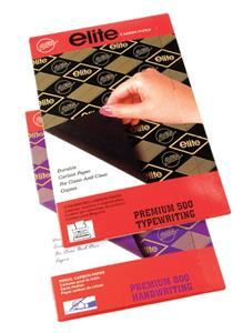 Carbon Paper Foolscap Black 100's