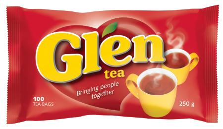 Glen Tagless Teabags 100s Pack