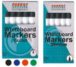 Parrot Marker Whiteboard S-Line Box 10 Red