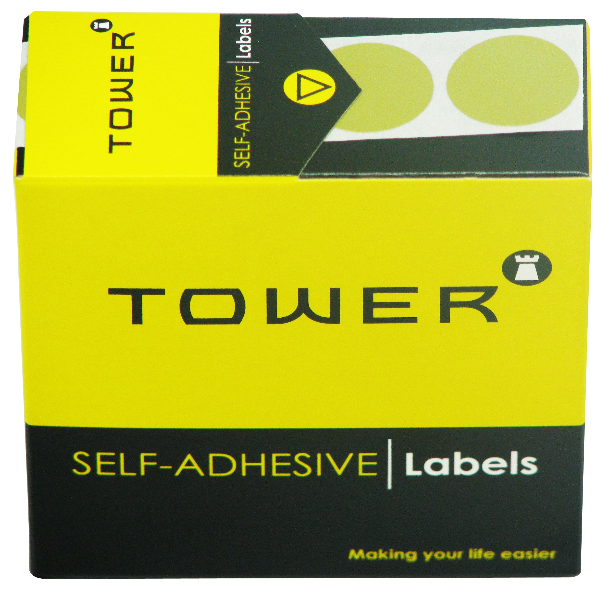 Tower C19 Label Gold