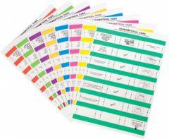 Tidy Files Alpha Labels - Mustard
