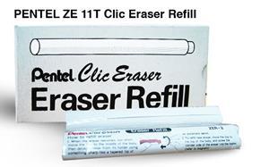 Pentel Clic Eraser Refill 2 Pack