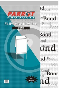 Parrot Flipchart Paper Bond 20 Sheets 860*610mm
