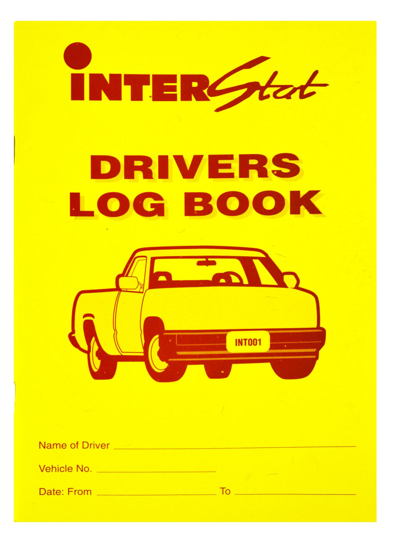 Drivers Log Bk 40PG Soft Cover