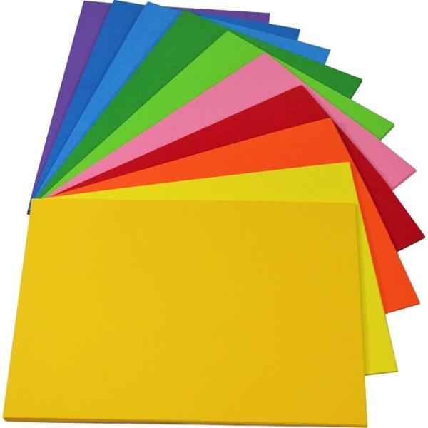 Manilla Folders 200gsm Bright Yellow Pack 100