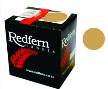 Redfern C19 Label Gold