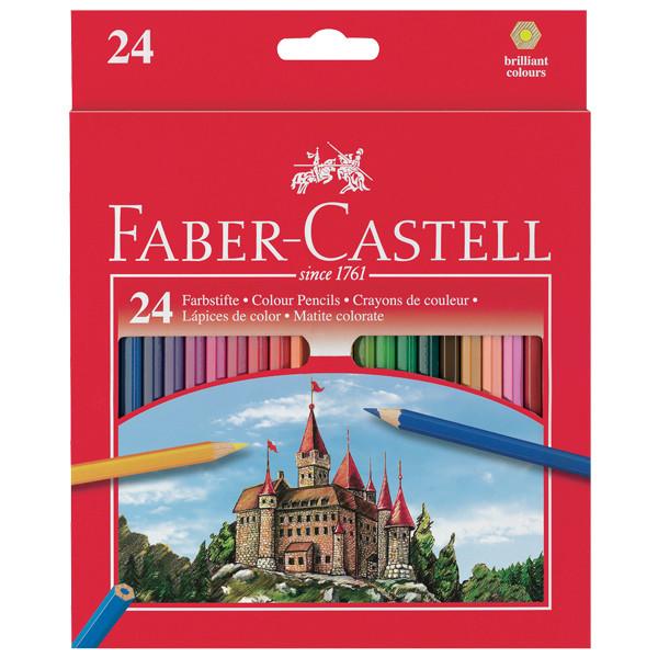 Faber Castell Colour Pencil 24'S Full Hexagonal