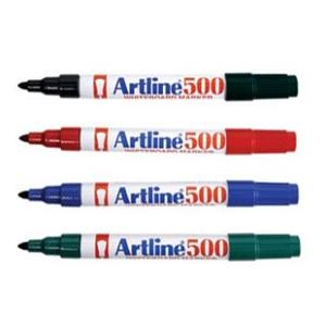 Artline EK500w Whiteboard Marker Assorted 6