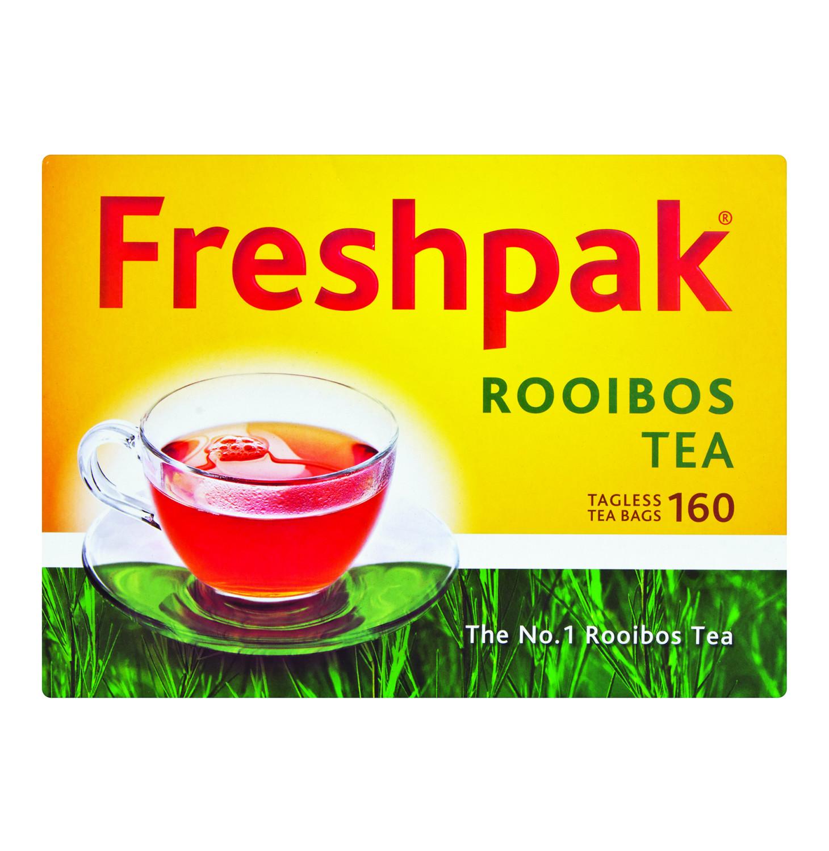 Rooibos Freshpak Teabags Tagless 160's