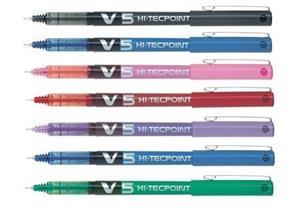 Pilot Hi-Tecpoint V5 Grip Violet