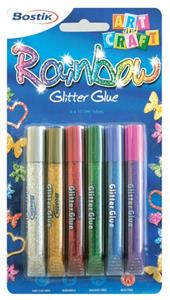Bostik Glitter Glue 6x10.5ml