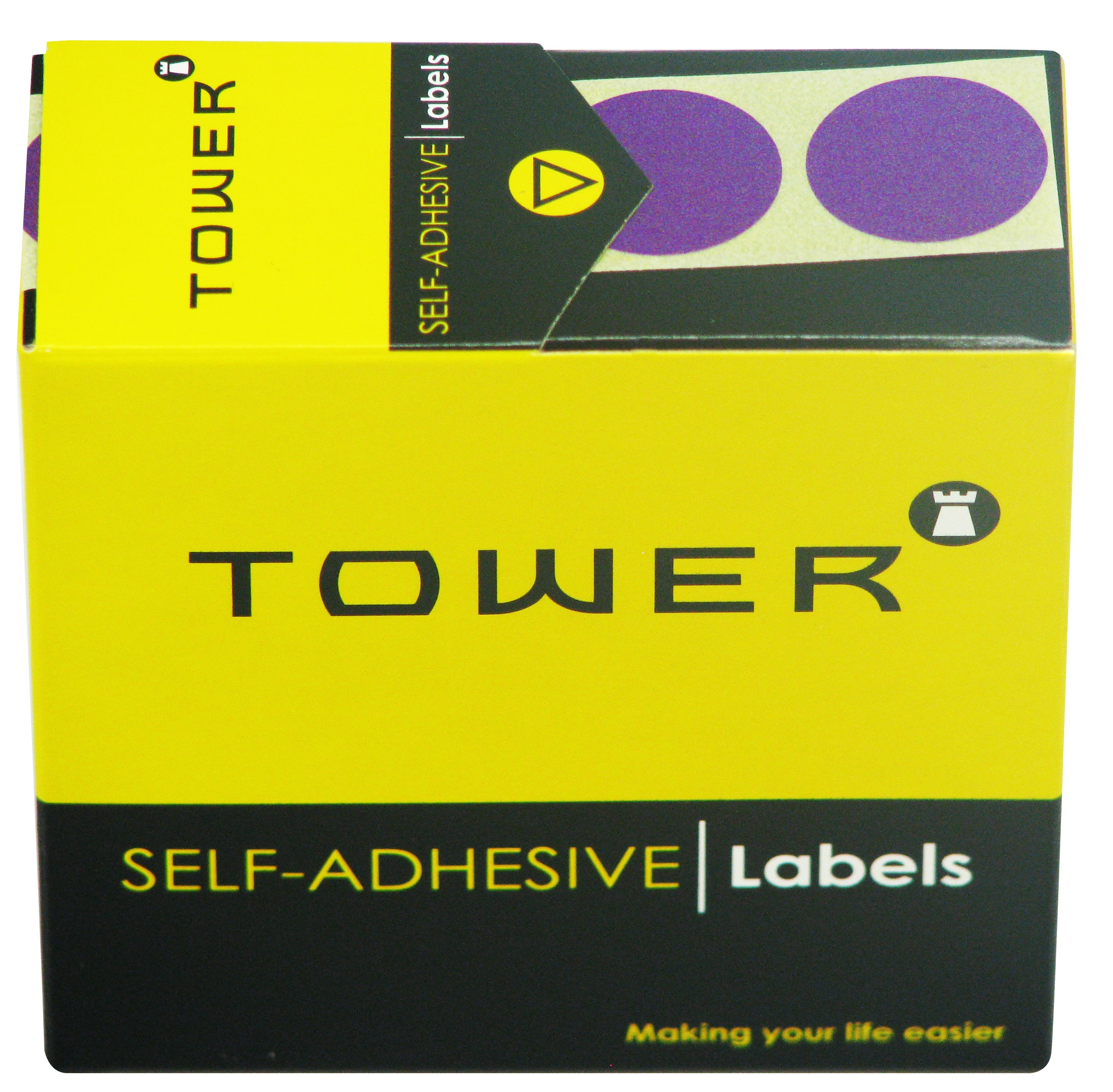 Tower C19 Label Purple