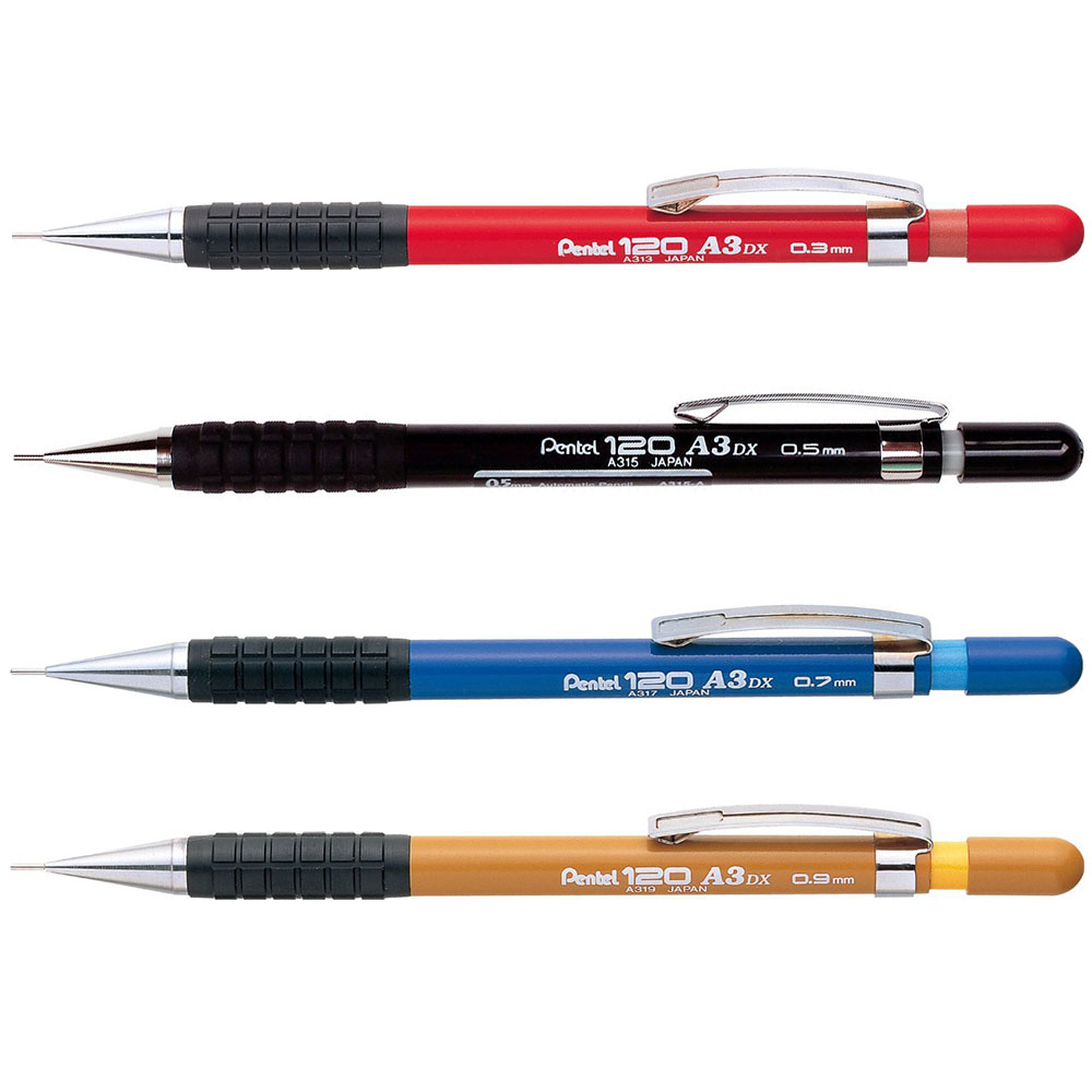 Pentel Clutch Pencil 120 A3 0.5mm