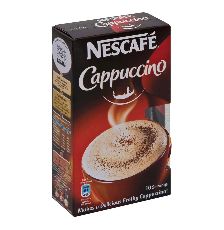 Cappuccino Original Nescafe 10x18g