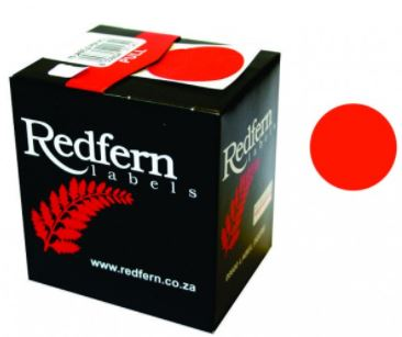 Redfern C19 Label Red