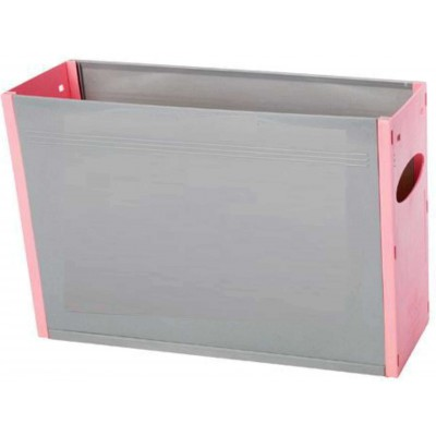 Tidy Files Solid Plastic Container A4-Pink