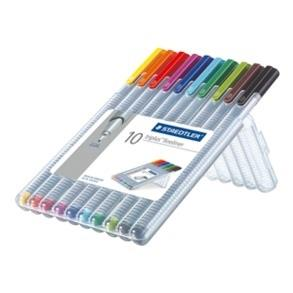 Staedtler Triplus F-Liner Box 10 Assorted