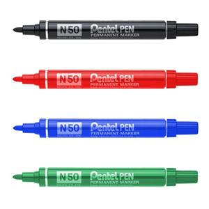 Pentel N50 Bullet Marker Black