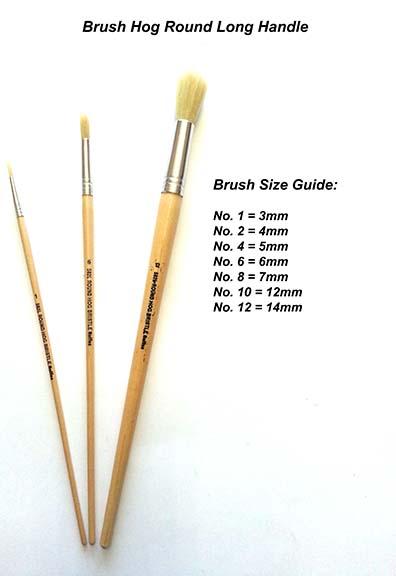 No.1 Flat Hog Brush