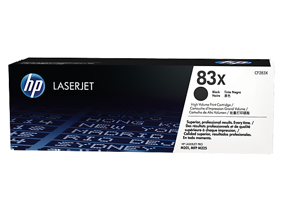 HP 83X BLACK HIGH YIELD TONER CARTRIDGE FOR LASERJET M604 M605 and M606(2200 PAGE YIELD)