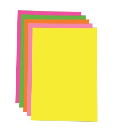 Fluorescent Paper Pads 50 Page